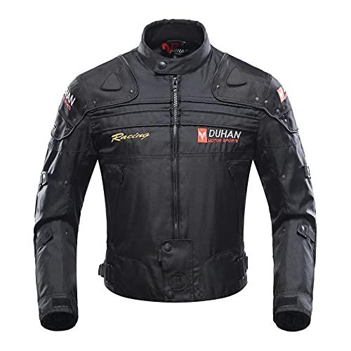 BORLENI Chaqueta de moto a prueba de viento motocicleta armadura de equipo de protección otoño...
