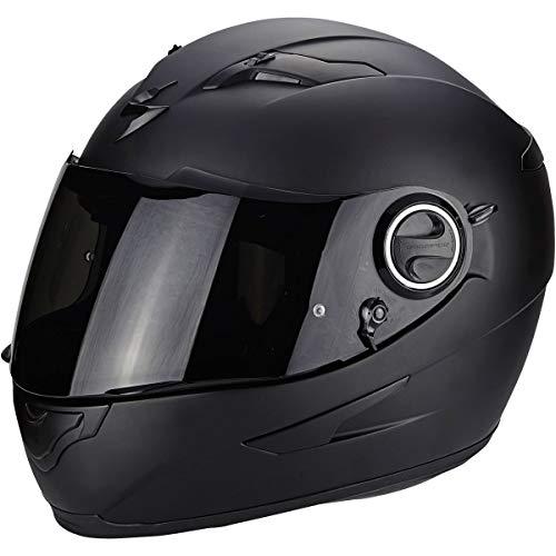 Casco de moto Scorpion EXO 490 Negro Mat, Negro, S