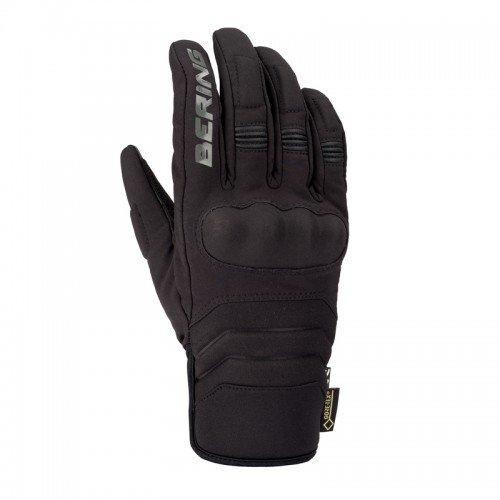 Bering EKSEL - Guantes para Moto, Color Negro, Talla T9