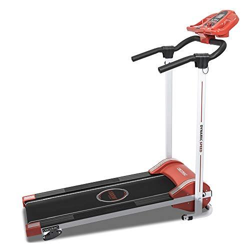Cecotec Cinta de Andar RunnerFit Step Red Series. 1000 W, 12 programas predefinidos, Pantalla LED,...