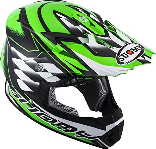 Suomy ksrb0008.3Casco Moto, verde, S
