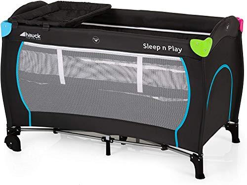 Hauck Cuna de Viaje Sleep N Play Center, de Nacimiento hasta 15 kg, 120 x 60 cm, Doble Altura,...