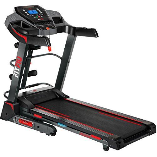 Fitfiu Fitness MC-500 - Cinta de correr plegable con inclinación automática, velocidad regulable...