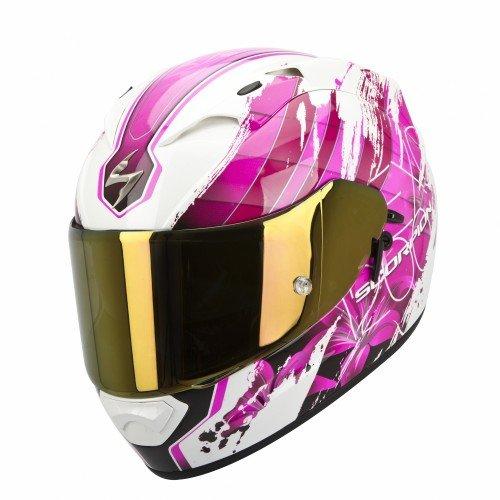 Scorpion - Casco de moto EXO-1200Air con calota exterior de fibras de tricomposite, multicolor,...
