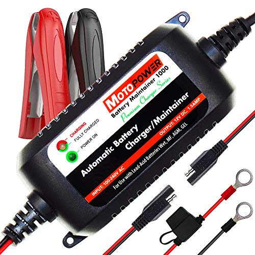 MOTOPOWER MP00206A 12V 1.5A totalmente automático cargador de batería / Mantenedor de...