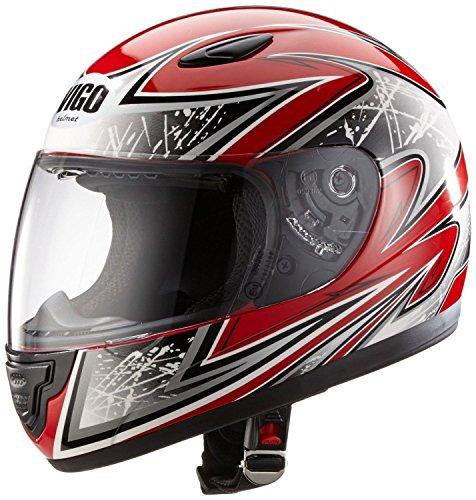 Protectwear Casco de moto de los niños rojo SA03-RT Tamaño S ( juventud XL) 54/55 cm