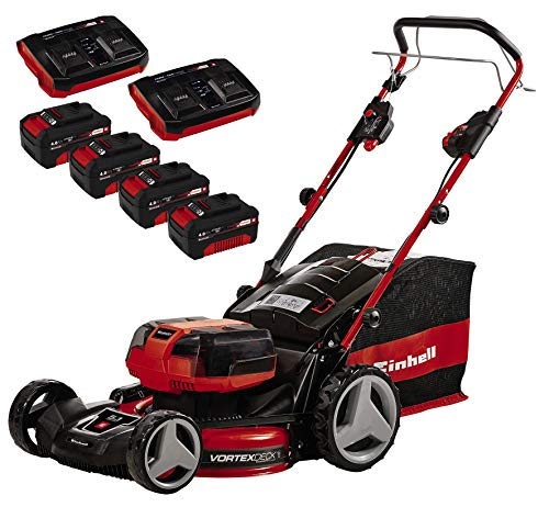 Einhell Cortacésped sin cable GE-CM 36/47 S HW Li Power X-Change (36 V, iones de litio, 47 cm ancho...