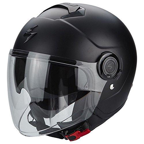 Scorpion 2578-26353 Casco para motocicleta, negro mate, XL