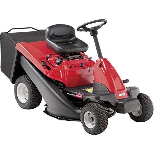 MTD 13A726SD600 Tractor cortacésped Minirider 76 RDE. Motor Starter, 382 CC, rojo