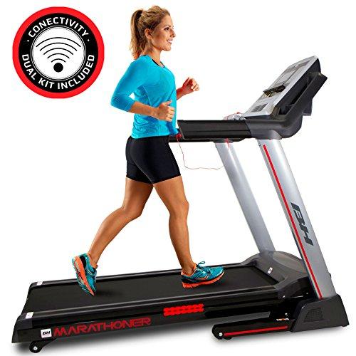 BH i.Marathoner Cinta de Correr Plegable - 21Km/h - 36 programas - 8 años garantía - Fitness apps...