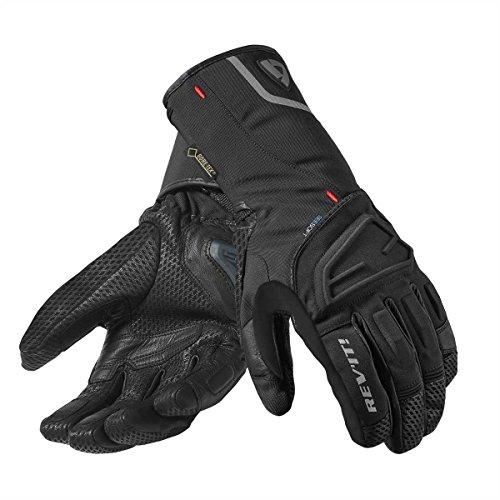 FGW067 - 0010-XYL - Rev It Borealis GTX Winter Motorcycle Gloves XYL Black