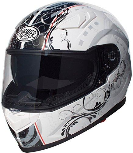 Premier apintvippoltr8000l Casco Moto, L