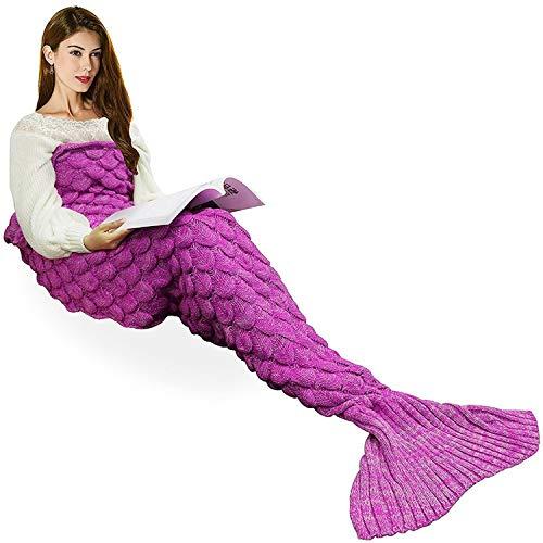 Manta cola de sirena para adulto 180x90cm