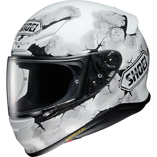 Shoei - Casco de moto NXR Ruts TC-5, color negro, Unisex adulto, COMINU083315, Color blanco mate.,...