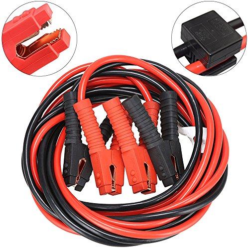Cables de Pinzas Arranque de Alta Potencia Múltiples Protección Para 12V 25 mm² Arrancador de...