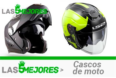 casco de moto con doble visera