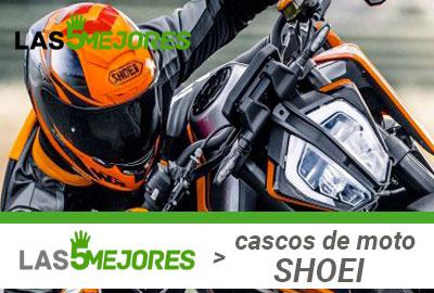 Guía compra cascos Shoei