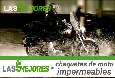 Mejores Chaquetas de moto impermeables  urbanas