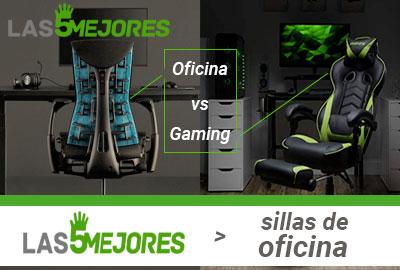 Sillas gaming VS Sillas Oficina ¿Cuál es mejor?