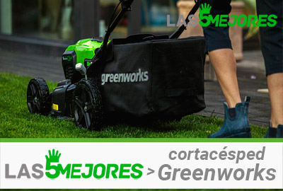 Que cortacesped Greenworks comprar