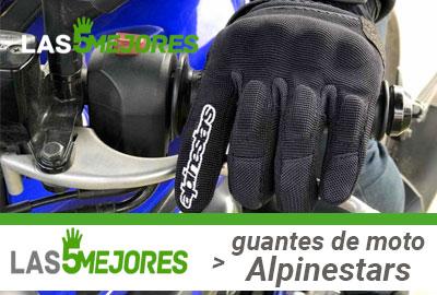 precios de guantes de moto alpinestars