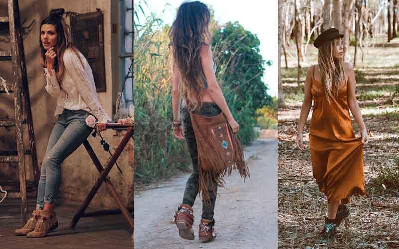 Looks de mujeres con botas Kansas de la marca Layer Boots