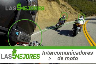mejores intercomunicadores de moto