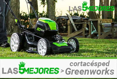 Mejor cortacésped Greenworks