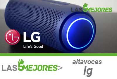 Mejores altavoces LG