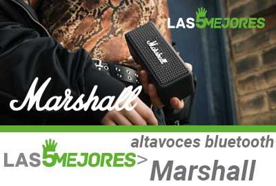 Mejores altavoces bluetooth Marshall