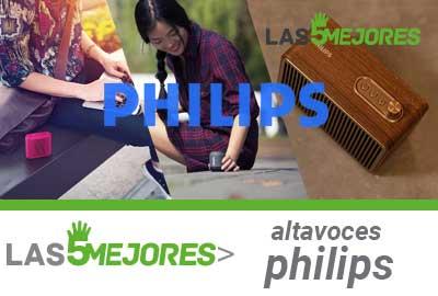Mejores altavoces Philips