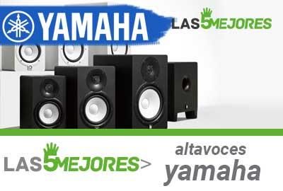 mejores altavoces yamaha