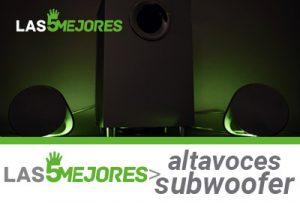 altavoces subwoofer pc