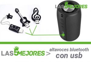 mejor altavoz con bluetooth y usb del mercado
