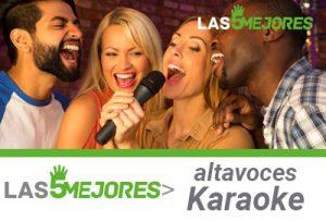 altavoces karaoke