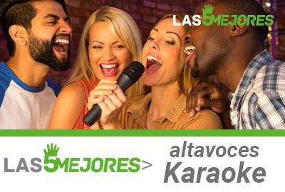 Mejores altavoces para karaoke