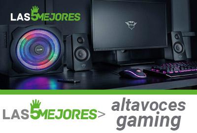 Mejores altavoces gaming calidad precio