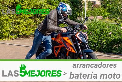 mejores arrancadores batería moto