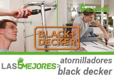 mejores atornilladores electricos black decker