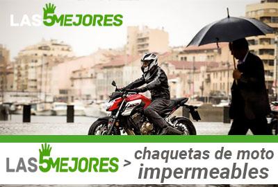 Comprar chaqueta de moto impermeable