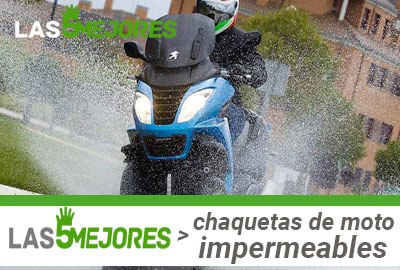 Mejores chaquetas de moto impermeables cordura