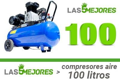 Mejores compresores de aire de 100 litros