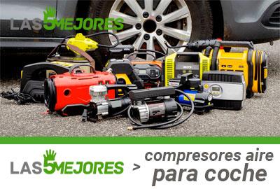 Mejores compresores de aire para coche