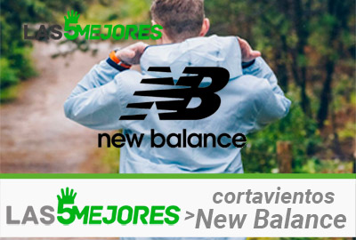 Mejores cortavientos New Balance