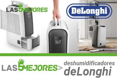 Mejores deshumidificadores DeLonghi