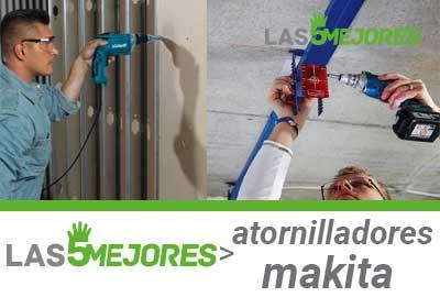 Mejores destorilladores electricos Makita