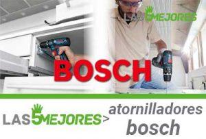 Mejores atornilladores Bosch