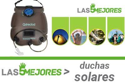Mejores duchas solares