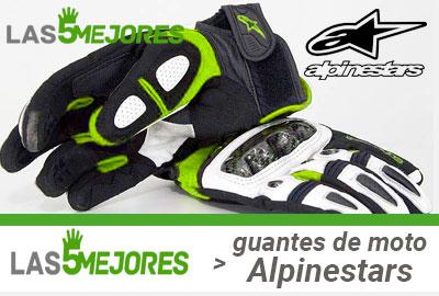 Mejores guantes de moto Alpinestars