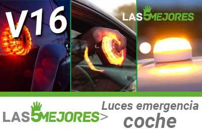 Mejores luces de emergencia para coche